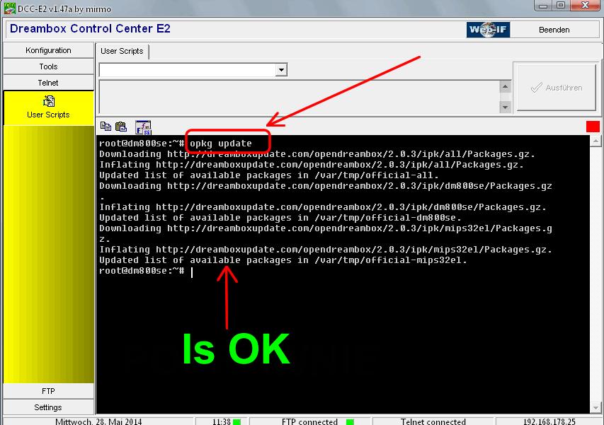 Webseite mirmo-linux Instalacja GP3